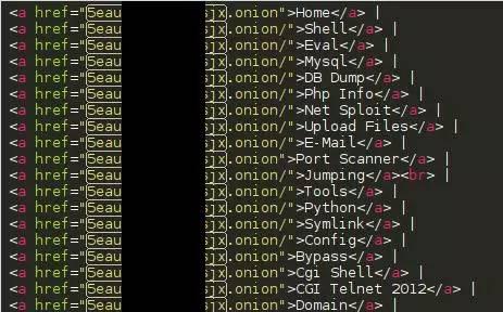 图11:网站代码中注入了竞争对手的链接地址